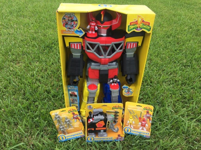 New Fisher-Price Imaginext Mighty Morphin Power Rangers Toys