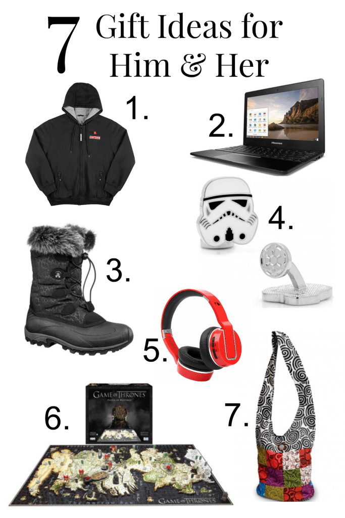 7 Gift Ideas for Him & Her