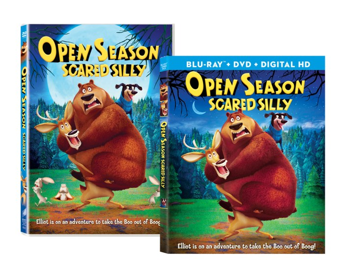 Open Season: Scared Silly Blu-ray Combo Pack & DVD Review