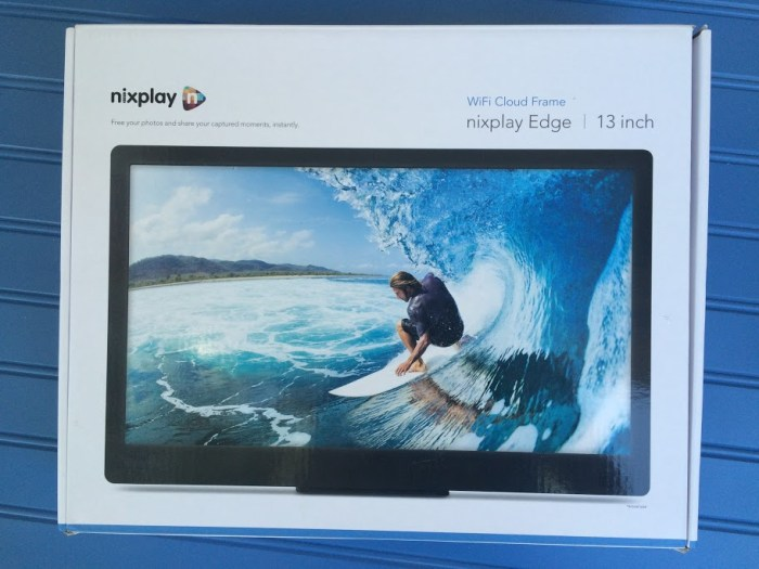 Give Your Valentine The Gift Of Photo Sharing With The Nixplay Edge Photo Frame