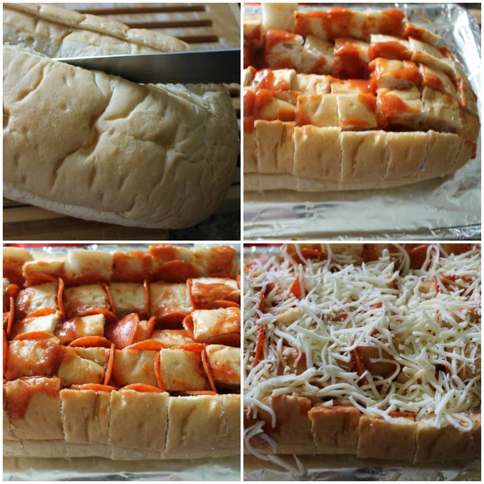 Pull Apart Pizza: Pull Apart Pepperoni Pizza Bread