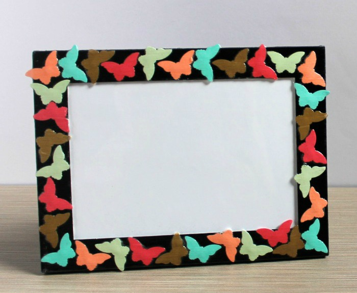 DIY Butterfly Photo Frame & Mother's Day Gift Ideas