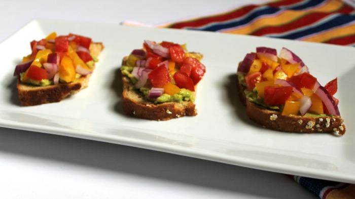 Salsa Avocado Toast Recipe & Produce for Kids  Campaign