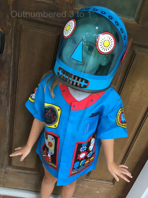Let Them Dream Big & Dress up Like a Robot Engineer!