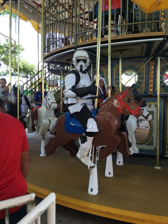 #BuildTheForce at LEGOLAND Florida Star Wars Days