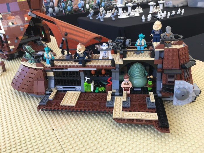 LEGO Star Wars Miniland Model Display