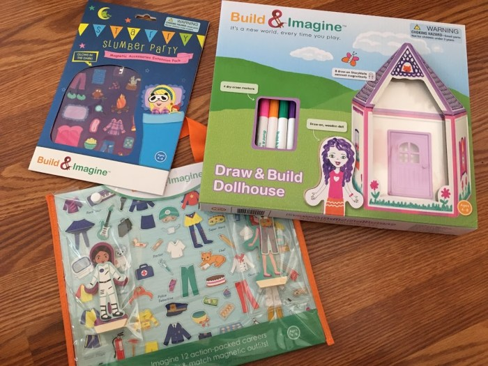 NEW Build & Imagine Dollhouse Building Sets Make Awesome Gifts