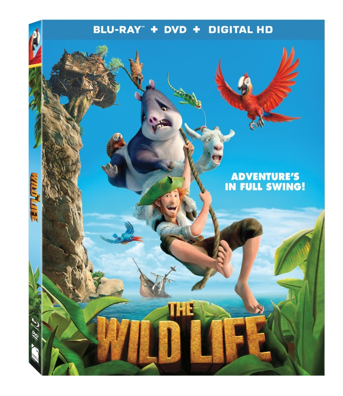 THE WILD LIFE Arrives on Blu-ray Combo Pack, DVD & On Demand November 29th