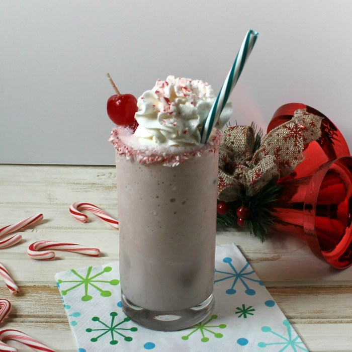 Candy Cane Milkshake Recipe & Holiday Traditions