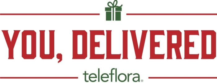 You, Delivered! Teleflora Knows The Best Gift This Holiday Is You