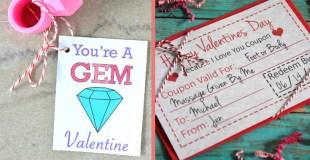 15 Valentines Printables for Kids
