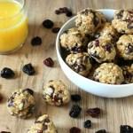 Chocolate & Berry Granola Bites Recipe