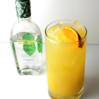 Gold Leaf Cocktail Recipe Featuring LEAF Vodka