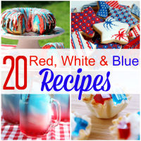 20 Festive and Tasty Red White & Blue Patriotic Recipes