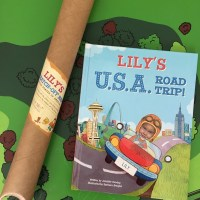 My U.S.A. Road Trip Personalized Book + Giveaway