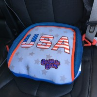 The BubbleBum Booster Seat is PERFECT for Travel + Giveaway