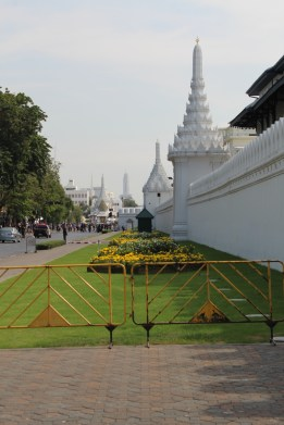 Outside the Royal Grand Palace