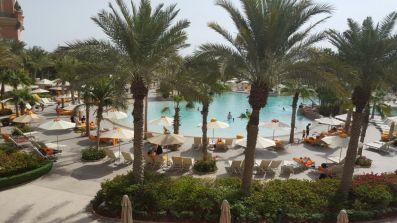 One of the pools at Atlantis. Photo credits:Dad