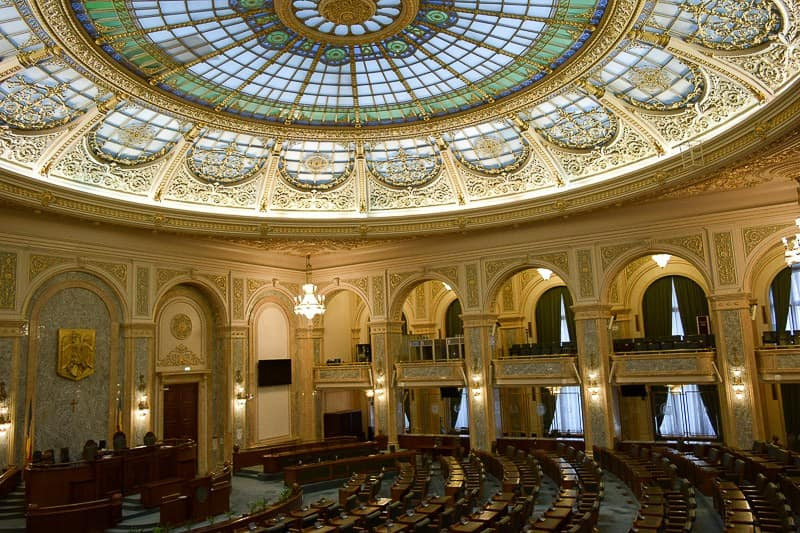 Palace of Parliament Bucharest Romania Attractions