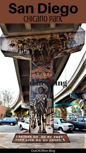 San Diego's Chicano Park street art is a living museum of the Mexican-American experience with 70+ murals depicting Aztec culture, immigration and political rights.