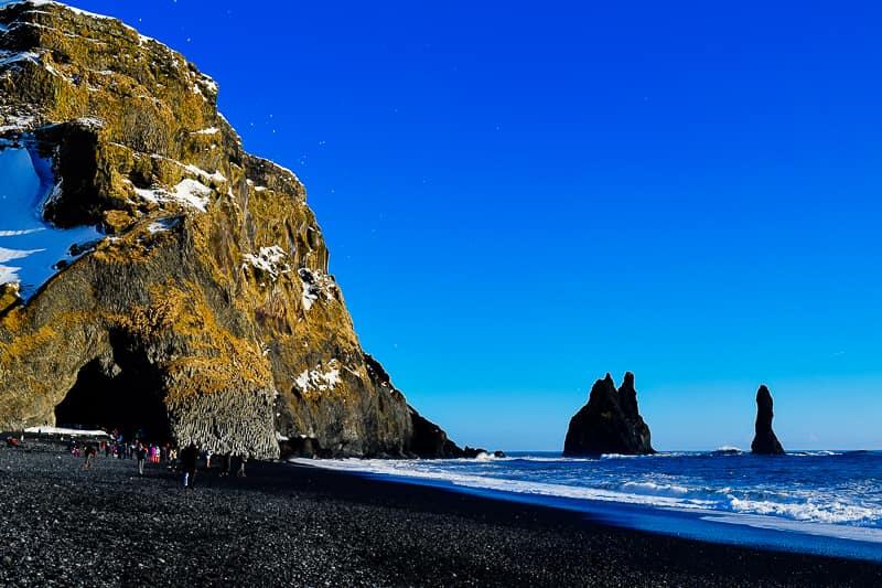 Reynisfjara Black Sand Beach Iceland South Coast itinerary best things to do