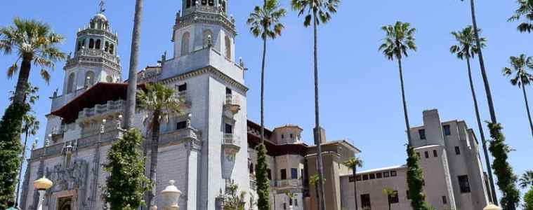 Hearst Castle California Pacific Coast Highway