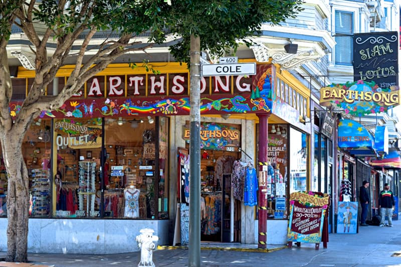 how to get to haight ashbury
