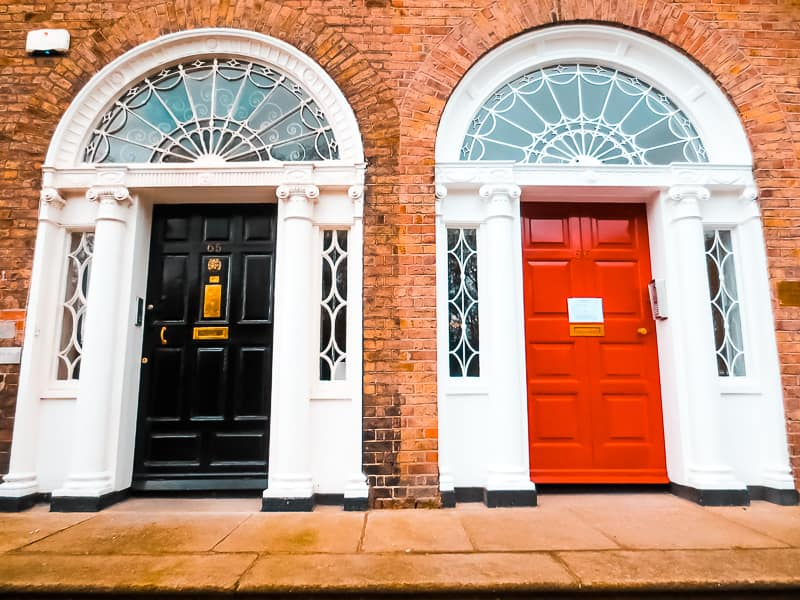 Georgian Dublin Door & The Iconic Georgian Dublin Doors in Merrion Square u2022 Out of Office