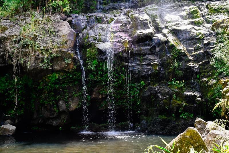 Kona Waterfall Hawaii Big Island Best Things to do