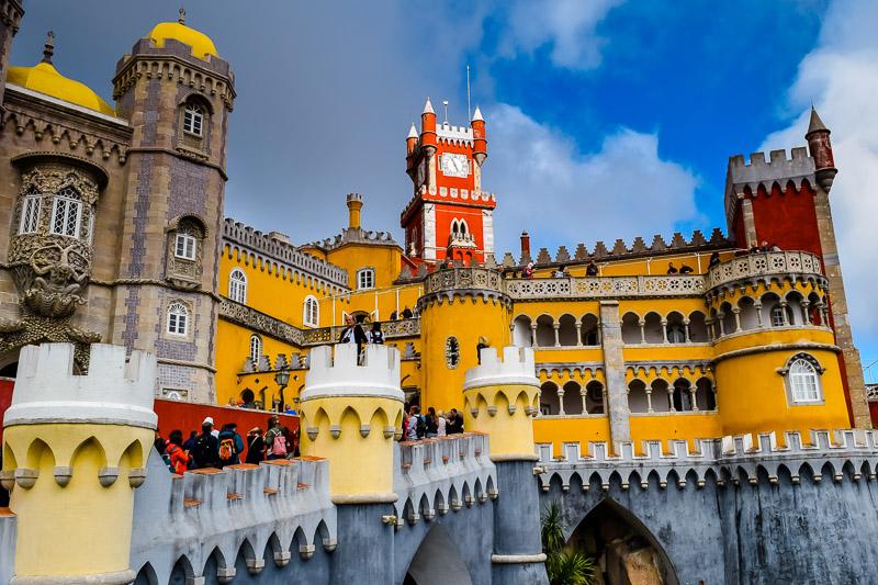 Pena Palace: The Hilltop Fairytale