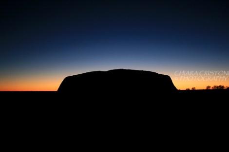 Sunrise at Uluru