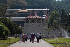 """Sri Lanka"" Kandy ""Temple of the Sacred Tooth Relic"" temple"