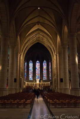 """Luxembourg """"Ville Haute"""" Notre-Dame Cathedral church"""