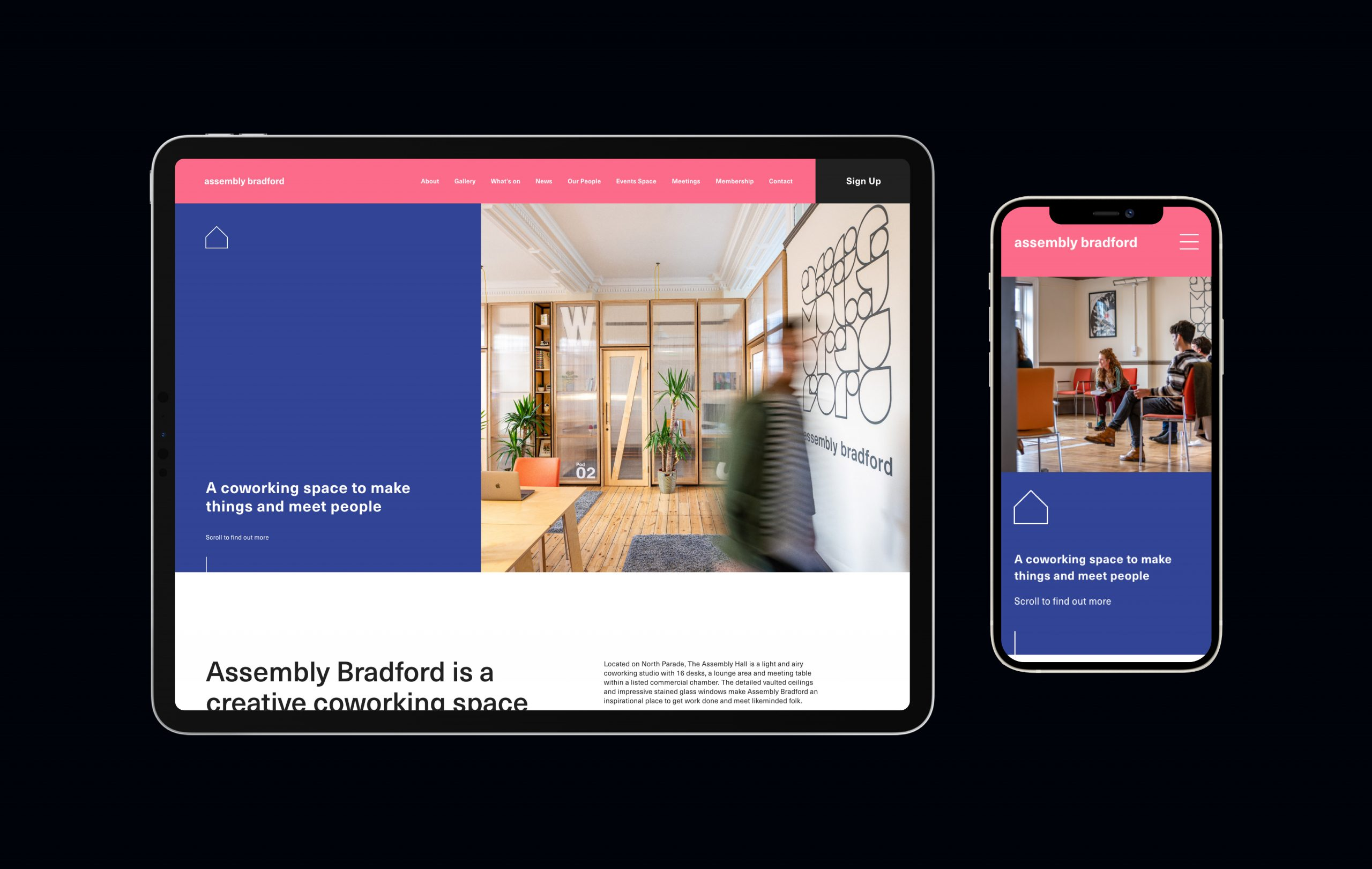 Assembly Bradford responsive web design