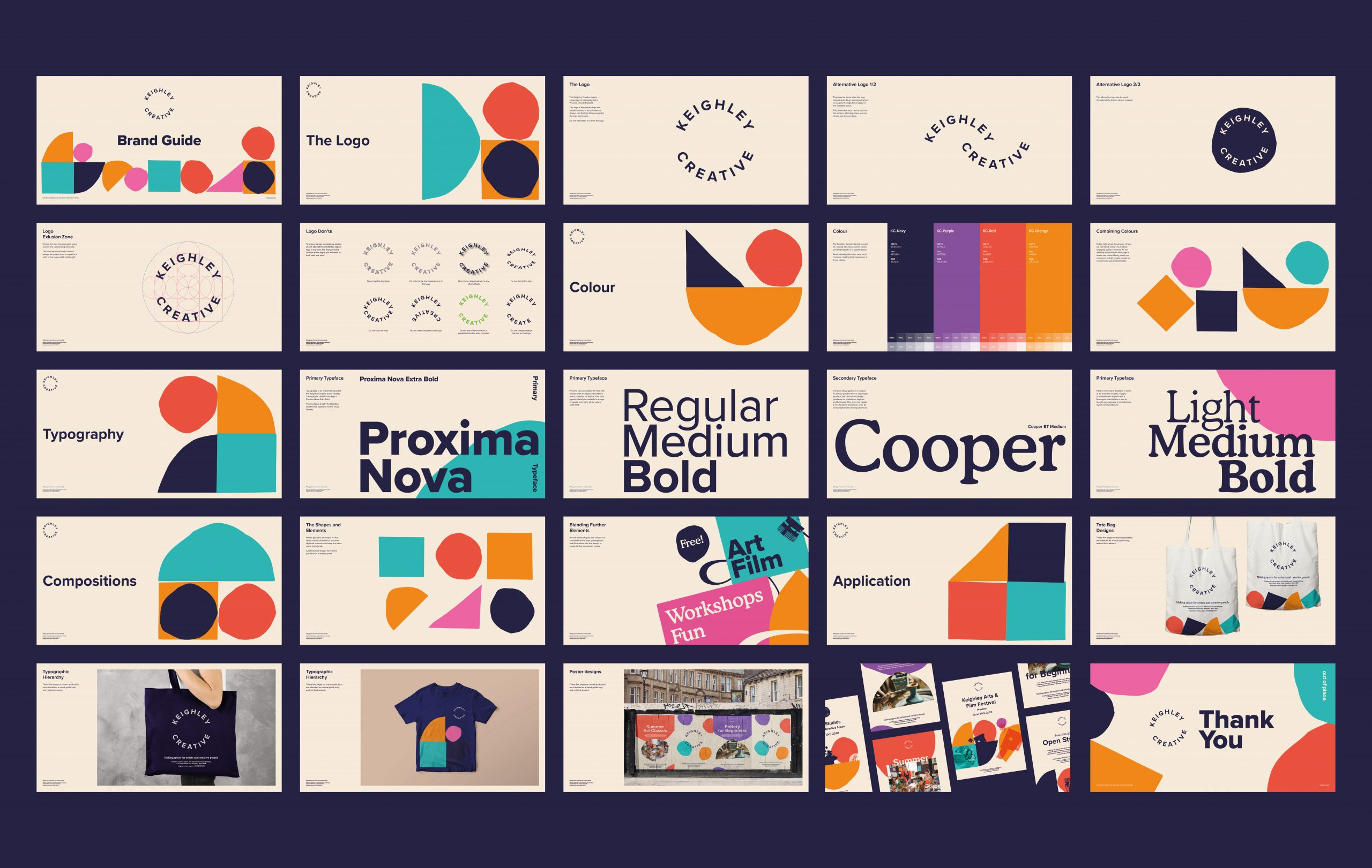 Keighley Creative - Brand Toolkit Design