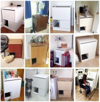 Top Rated Litter Box Furniture | Best Litter Box Cabinet