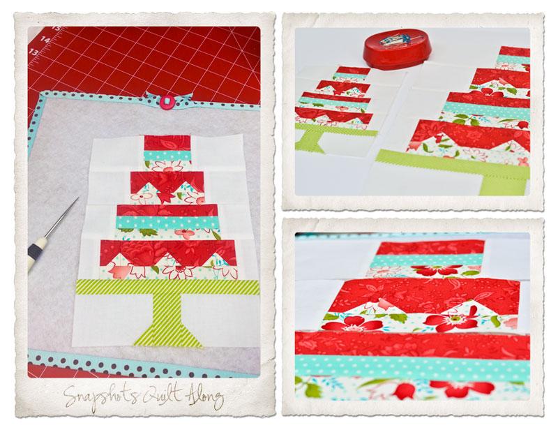 Snapshots Quilt-Along Mini Quilt Block 1