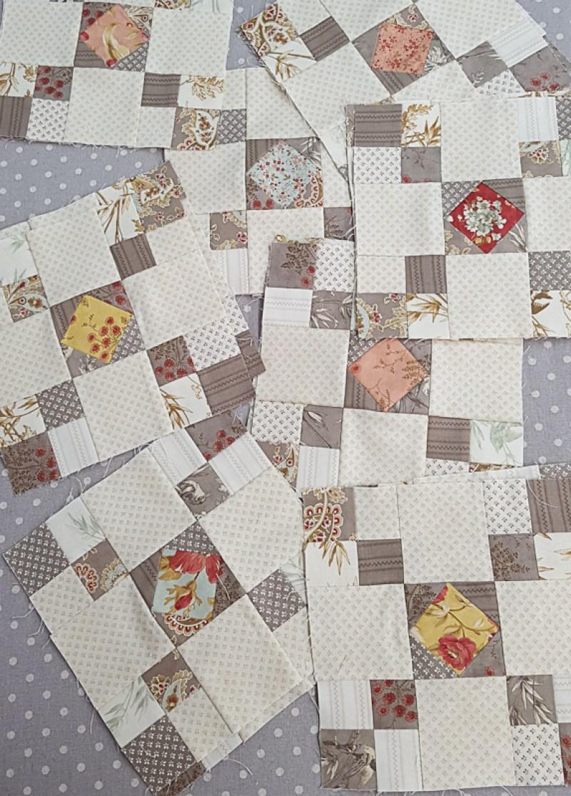 Crossroads Quilt Along Mini Crossroads Block 6 │ Out of the Blue Quilts by Sondra Davison