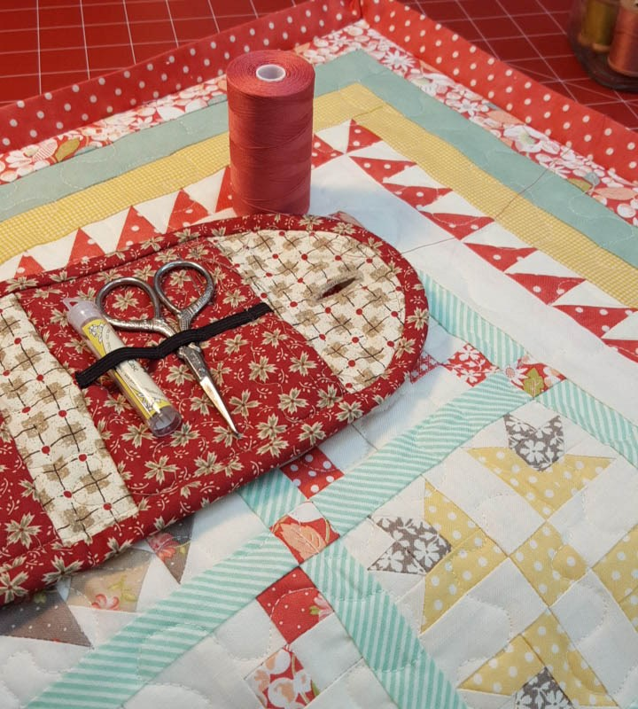 Crossroads Quilt Along Mini Pieced Backing