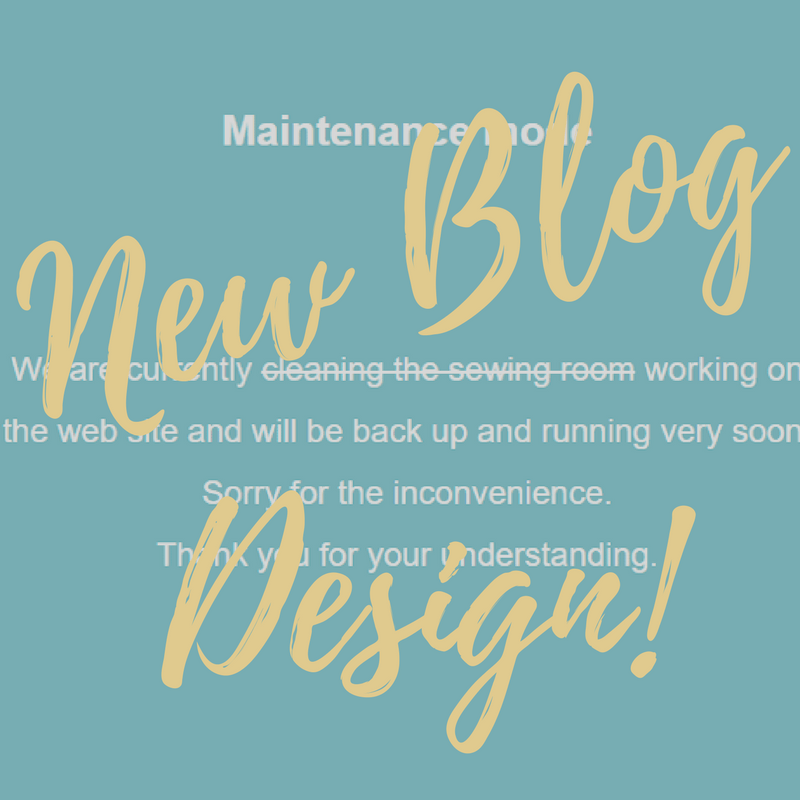 New Blog Design │Out of the Blue Quilts by Sondra Davison