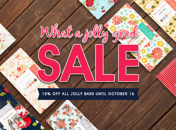 Fat Quarter Shop Jolly Bar Sale