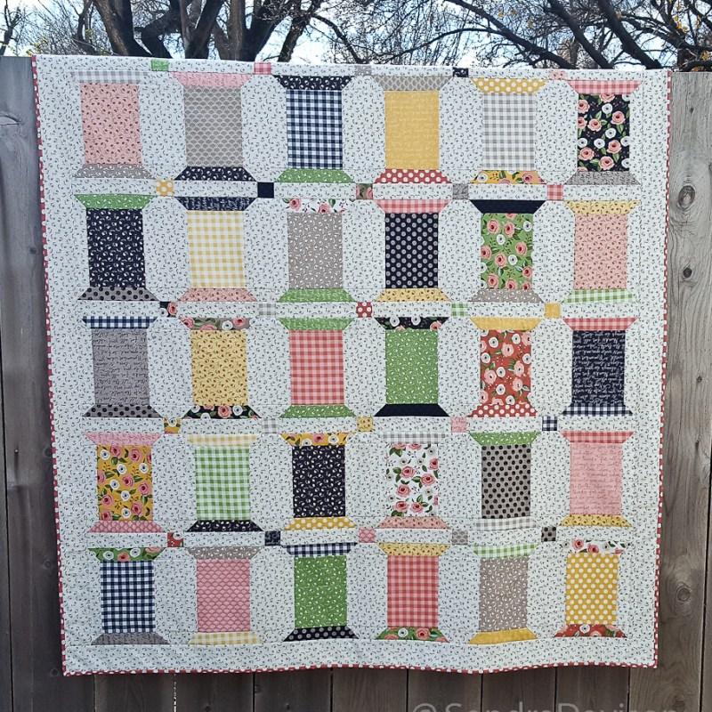 Spool Souffle Quilt Pattern