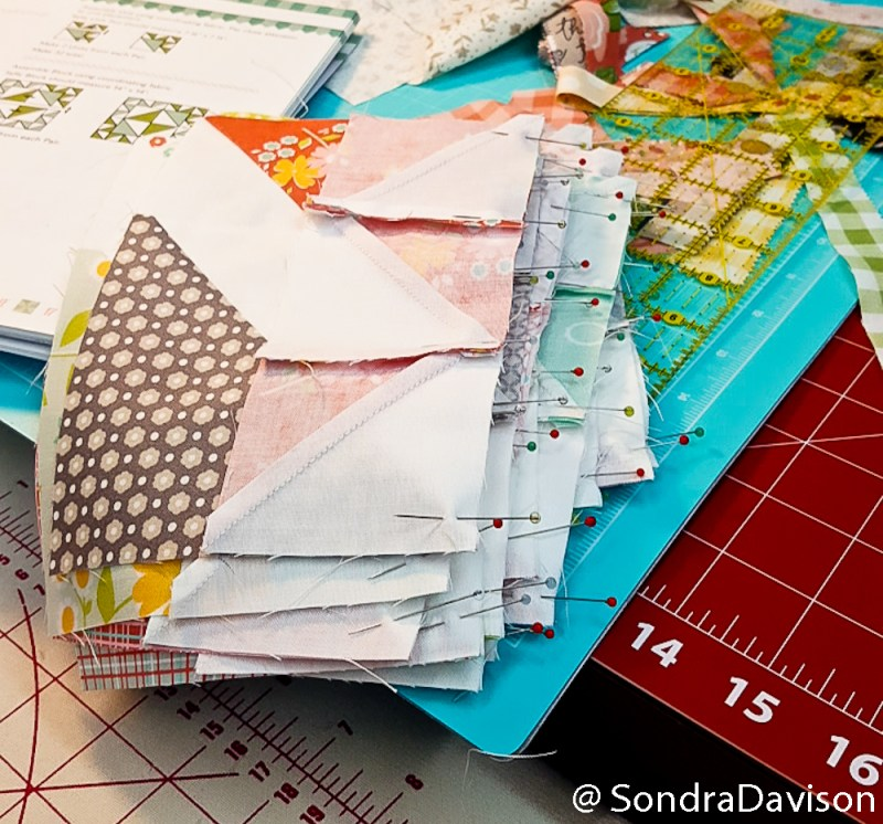 Cake Mix  Quilt Papers