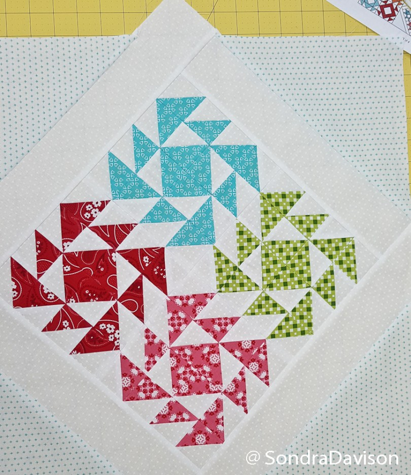 2018 Clementine QAL Block 6 │ Out of the Blue Quilts