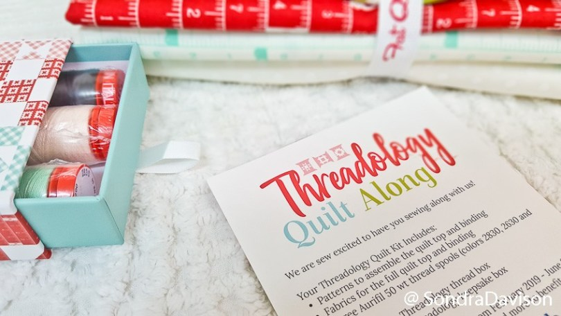 Threadology Intro │ Out of the Blue Quilts