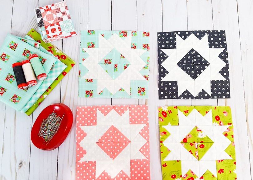 Threadology Block 5 │ Out of the Blue Quilts