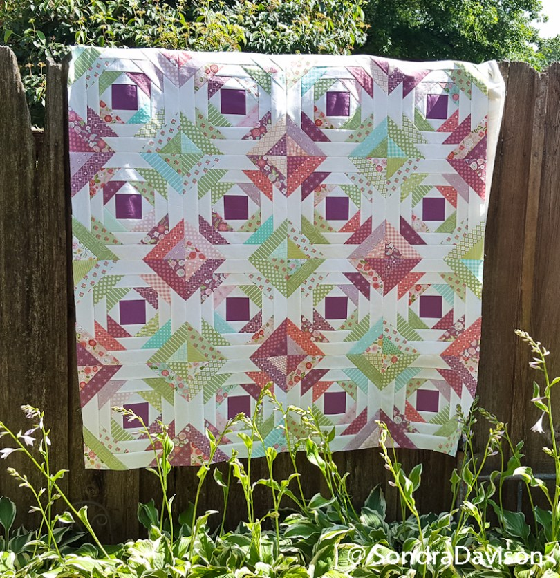 Picture of Pineapple Quilt work in progress