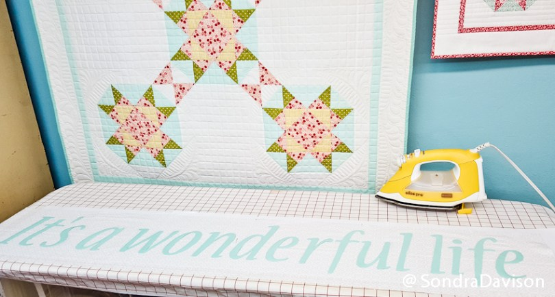 Layer Cakes Shortcuts Quilt│ Out of the Blue Quilts