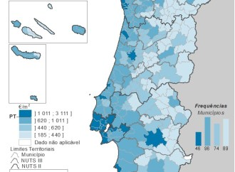 Habitação: preços sobem 6,4% em Portugal