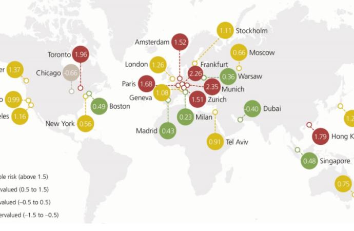 Bolha imobiliária: as localizações com mais risco